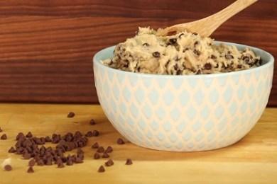 Eggless cookie dough recipe