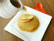 eggless apple pancake