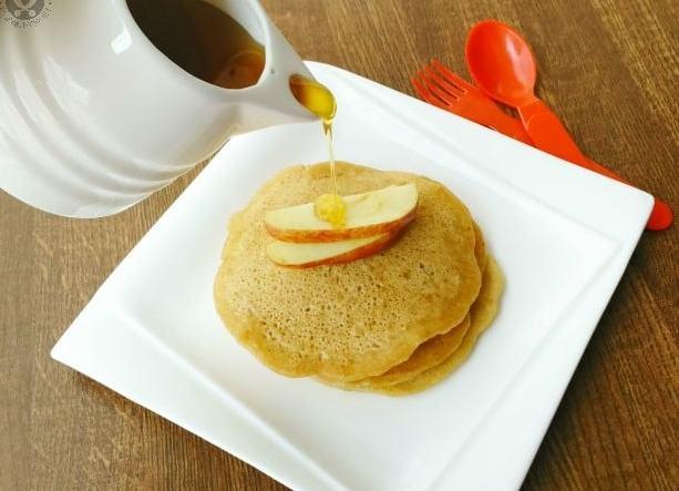 eggless apple pancake