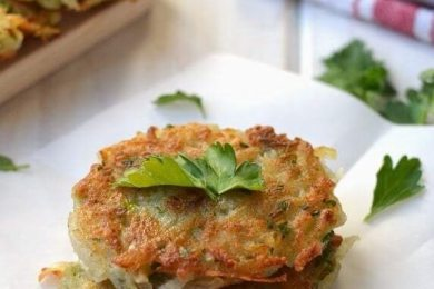 eggless potato pancake recipe