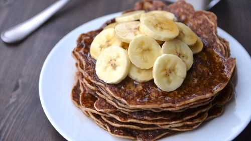 eggless vegan pancakes reciipe