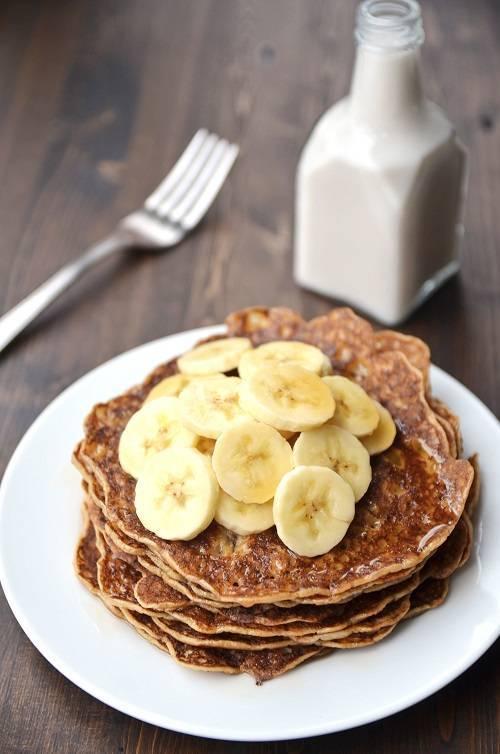 eggless vegan pancakes