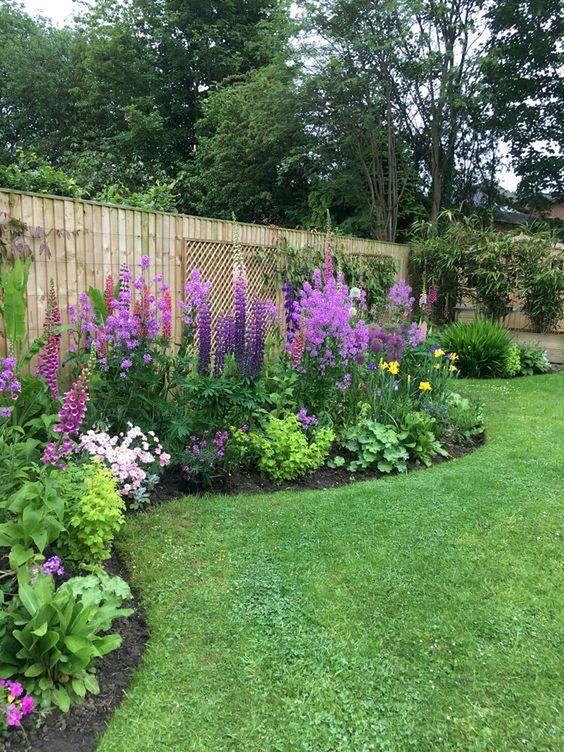 Colorful Backyard Garden 11