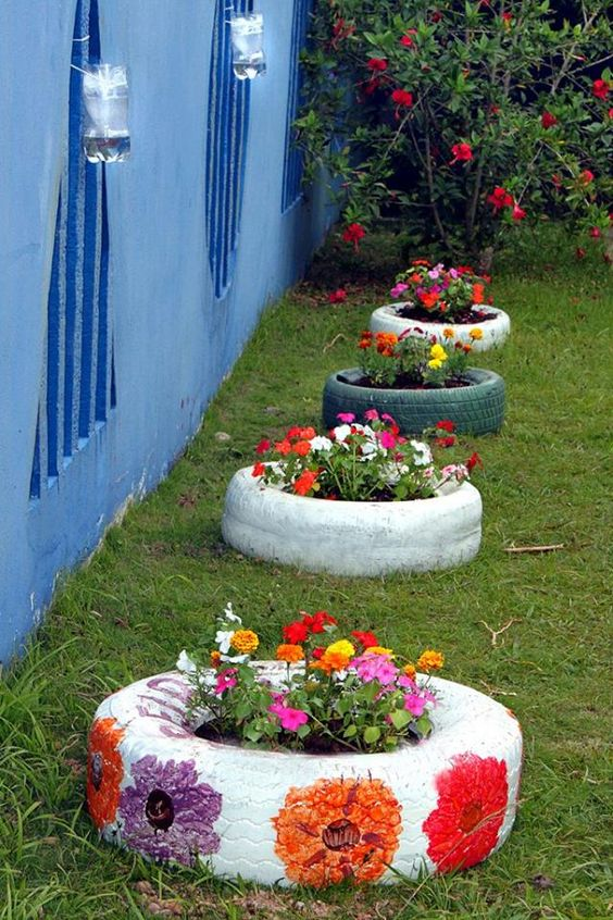 Colorful Backyard Garden 13