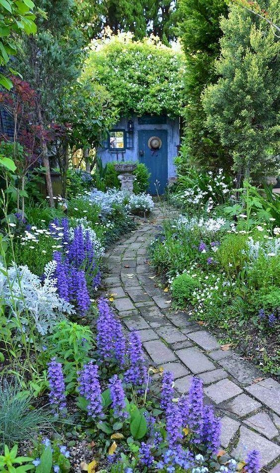 Colorful Backyard Garden 6
