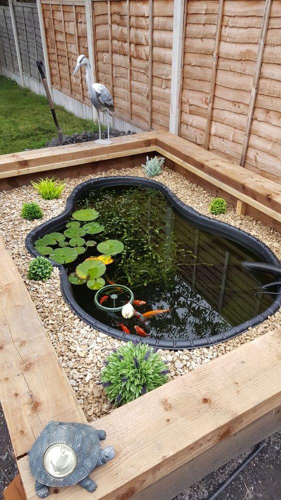 Above Ground Koi Pond: 15+ Mesmerizing Ideas to Decorate ... on Above Ground Ponds Ideas id=36425