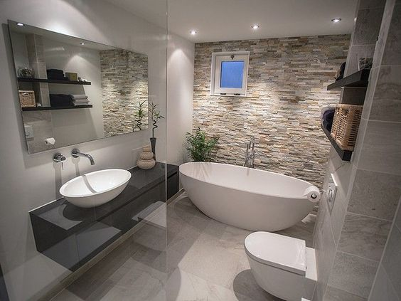 earthy bathroom 9