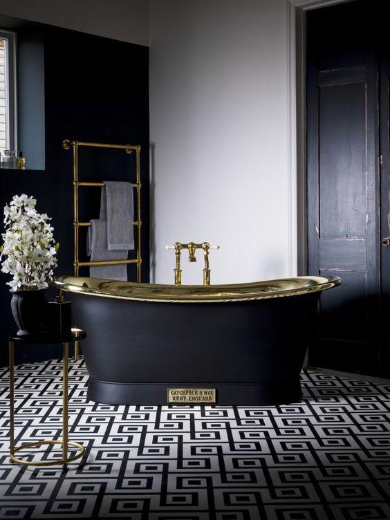 eclectic bathroom ideas 14