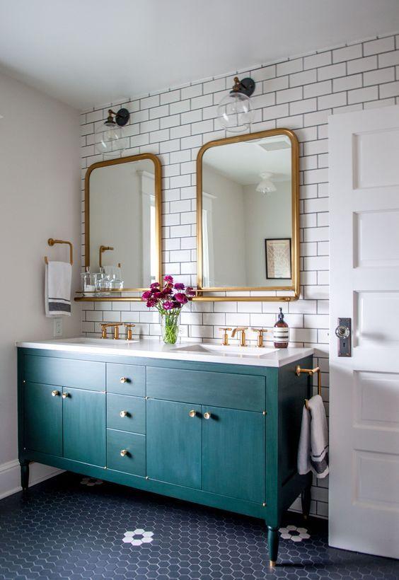 eclectic bathroom ideas 4