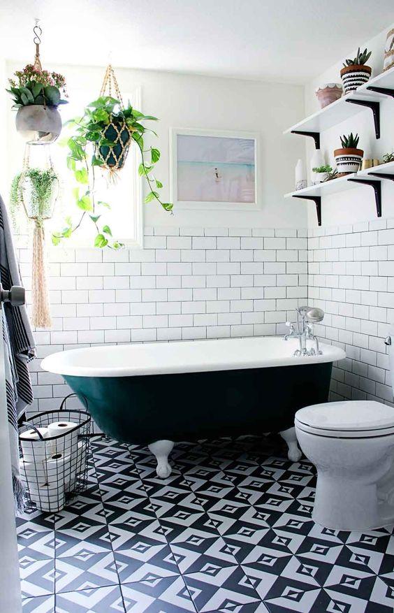 eclectic bathroom ideas 7