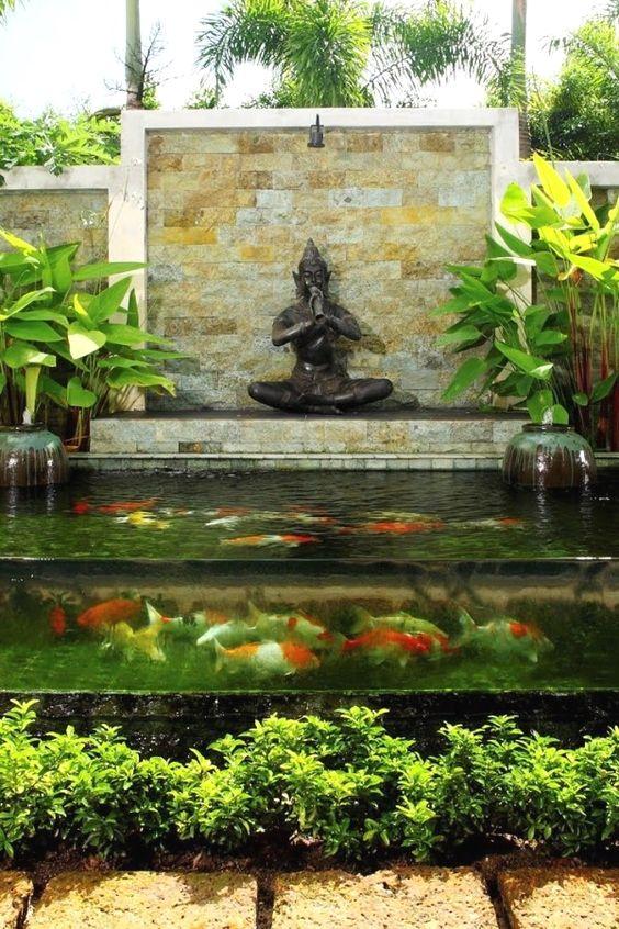 koi pond landscaping 16