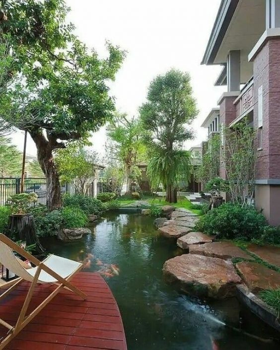 koi pond landscaping 21