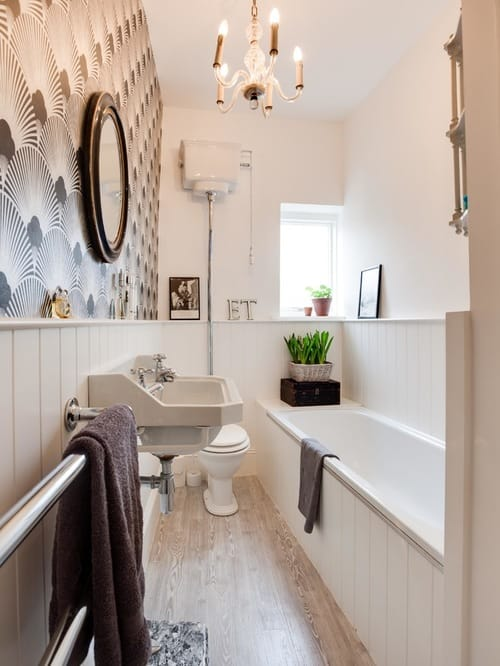 long narrow bathroom 10