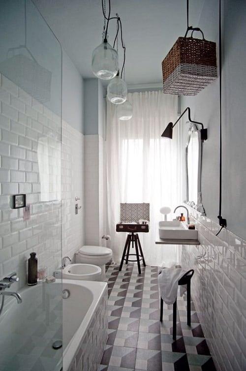 long narrow bathroom 20