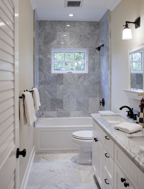 long narrow bathroom 6
