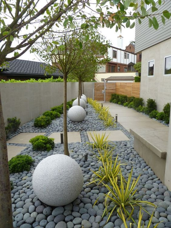 minimalist backyard garden 3