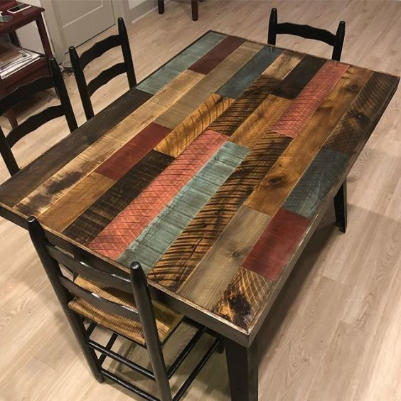 pallet dining table 14