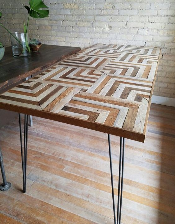 pallet dining table 15