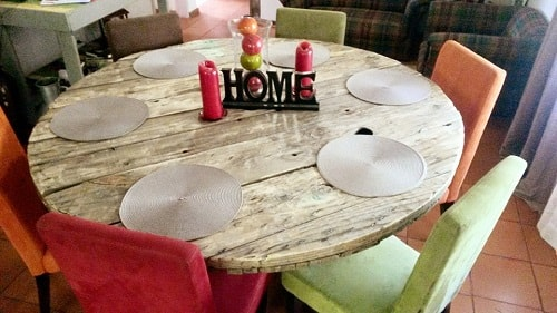 pallet dining table 5