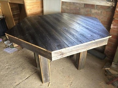 pallet dining table 6