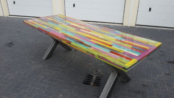 pallet dining table 8
