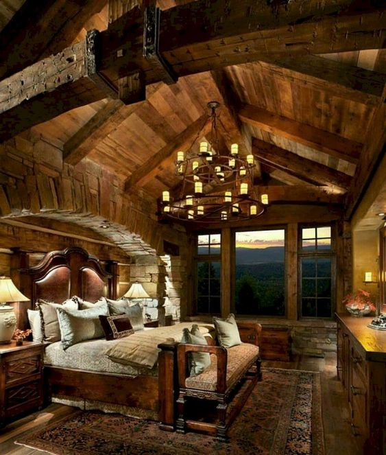 rustic bedroom 14
