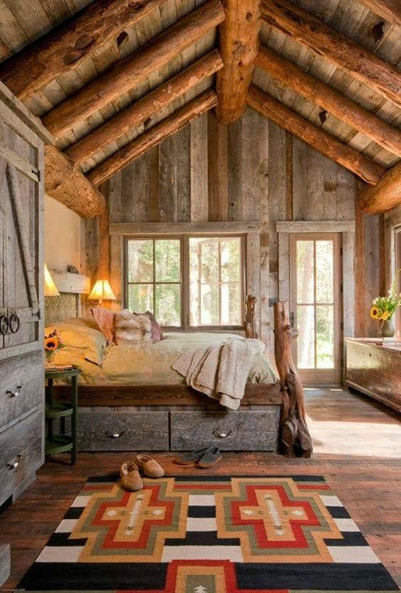 rustic bedroom 21