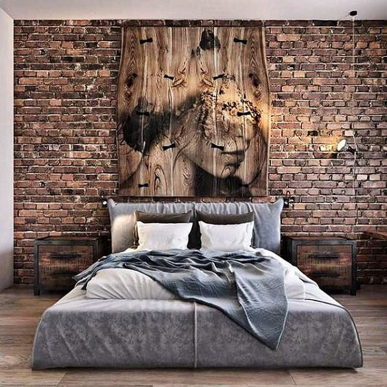 rustic bedroom 9