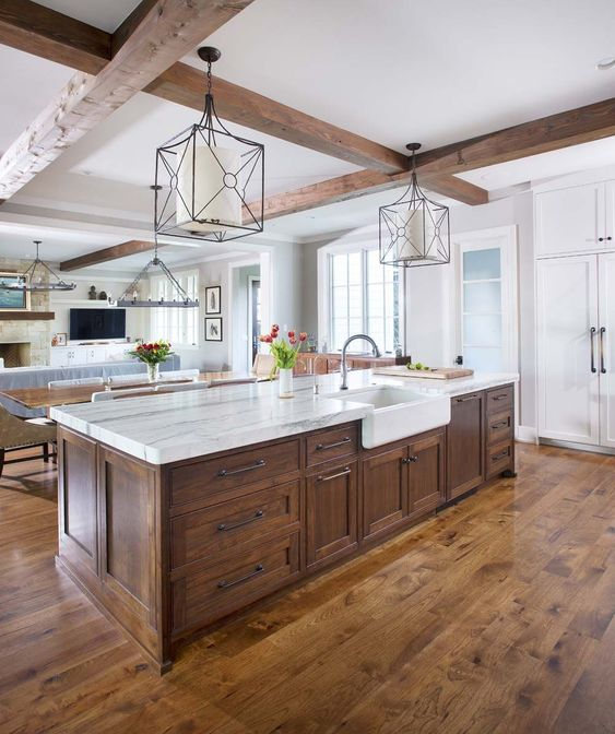 rustic kitchen decor 13