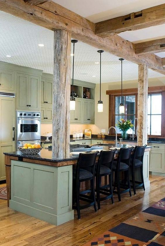 rustic kitchen decor 21