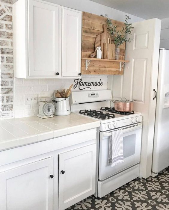 Kitchen Countertop on a Budget 2