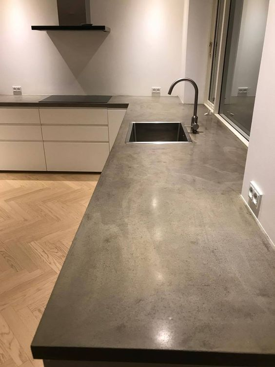 Kitchen Countertop on a Budget 6