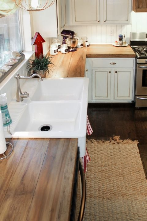Kitchen Countertop on a Budget 8