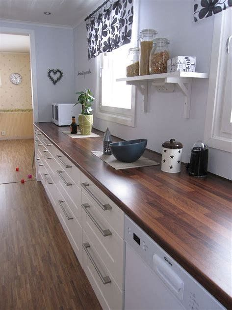 Kitchen Countertop on a Budget 9