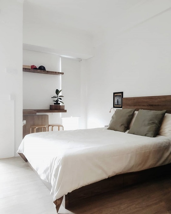 Minimalist Bedroom Design 5