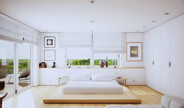 Minimalist Bedroom Design feature