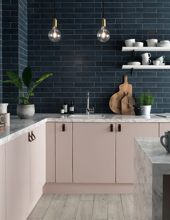 blush pink kitchen 7