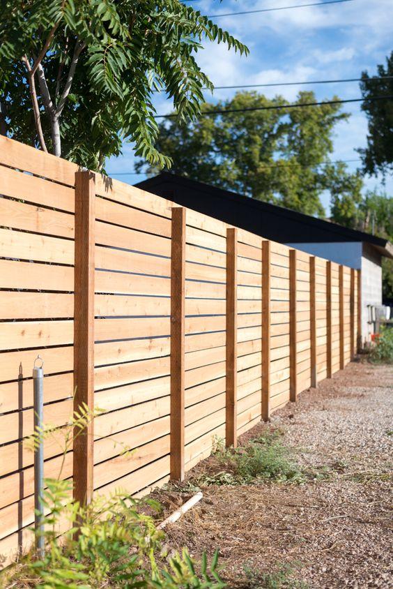 cedar fencing ideas 19