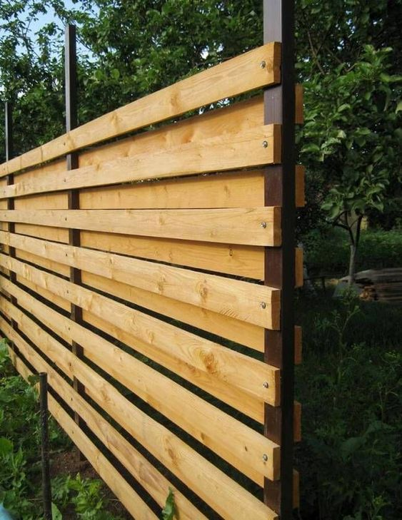 cedar fencing ideas 24