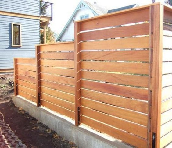 cedar fencing ideas 26