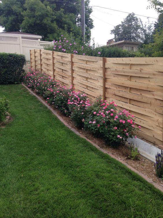 cedar fencing ideas 9