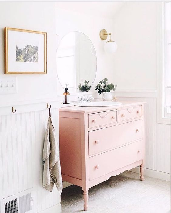 colored bathroom vanity 2