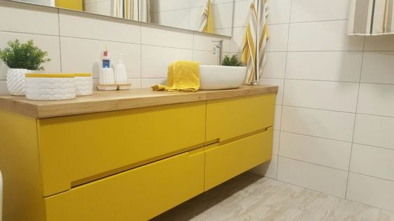 colored bathroom vanity 25
