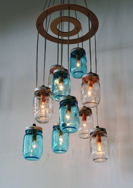 diy backyard lighting 13