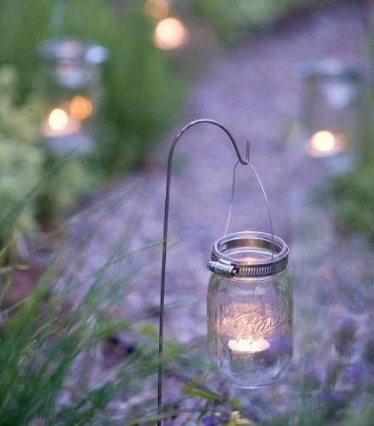diy backyard lighting 16