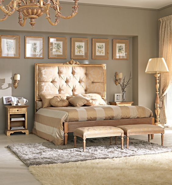gold bedroom ideas 1