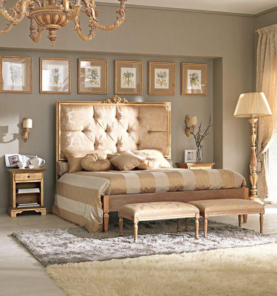 gold bedroom ideas 1
