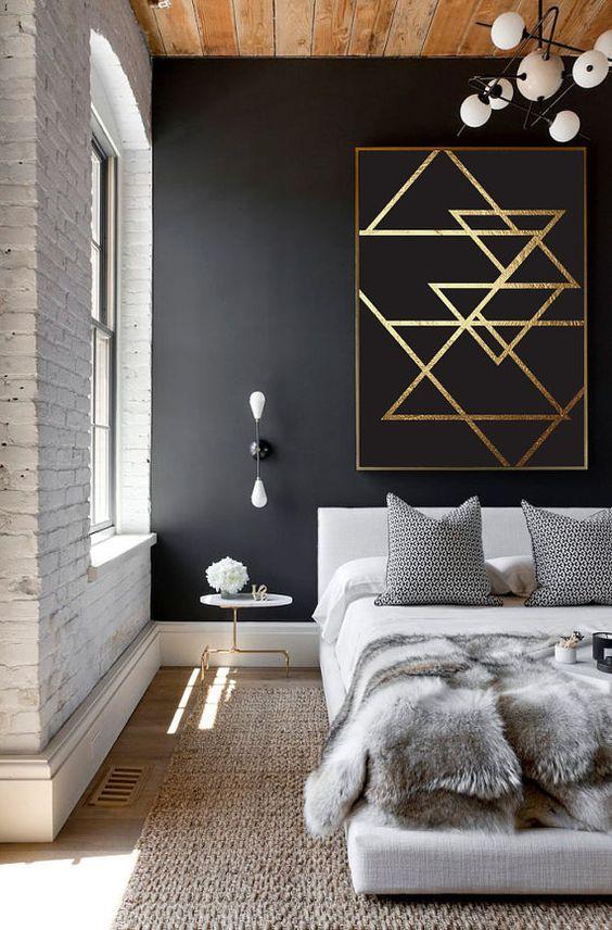 gold bedroom ideas 10