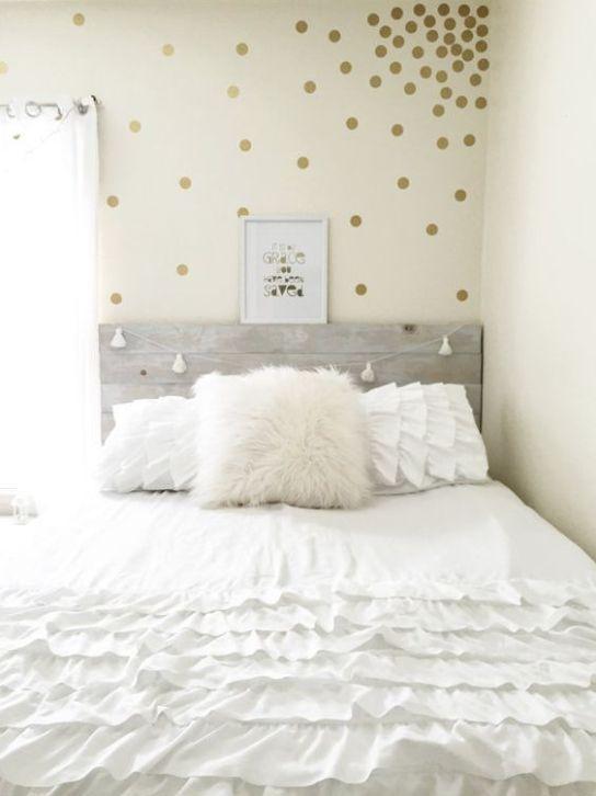 gold bedroom ideas 23
