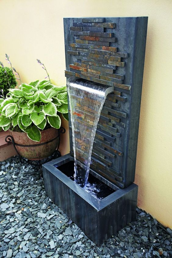 modern fountain ideas 19